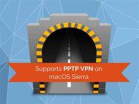Как установить PPTP соединение в macOS Sierra