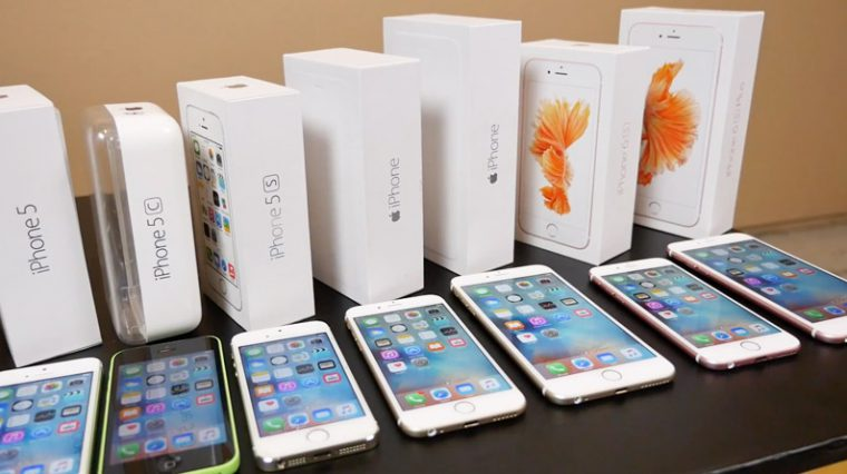 70% выпущенных за 10 лет айфонов все ещё работают