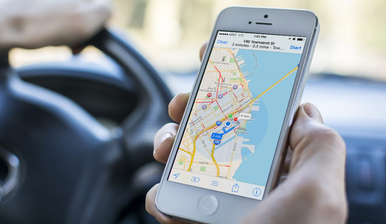 В iOS 11 появился жест для масштабирования Карт одним пальцем