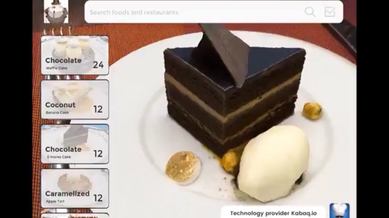 Так выглядит ресторанное меню будущего (Apple ARKit)