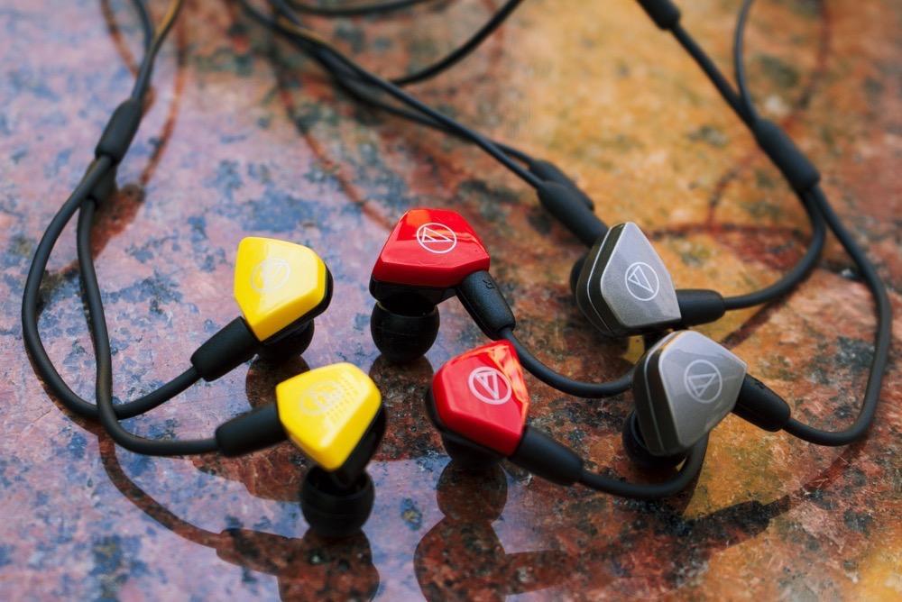 Нашел гарнитуры Audio-Technica с отличным звуком. Для iPhone и не только