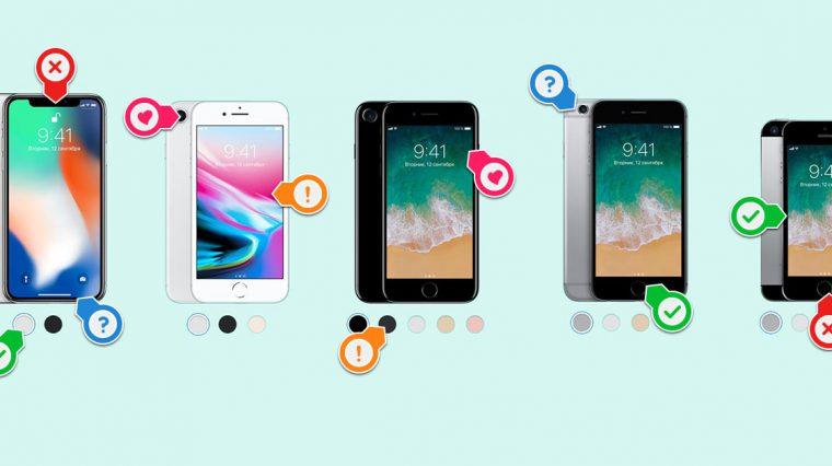 Какой iPhone купить осенью 2017 года