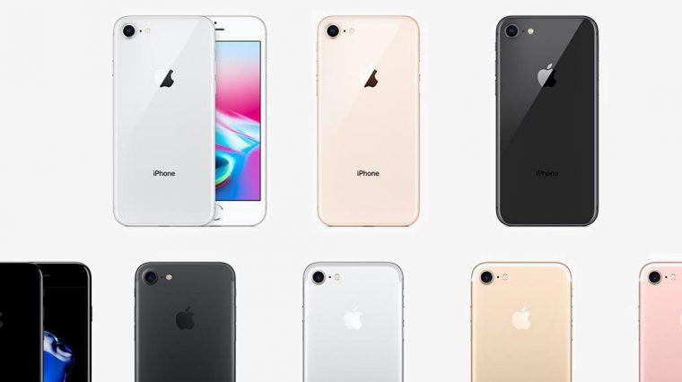 Чем отличается iPhone 8 от iPhone 7
