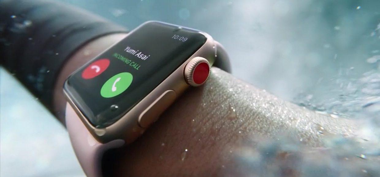 Встречайте, Apple Watch Series 3