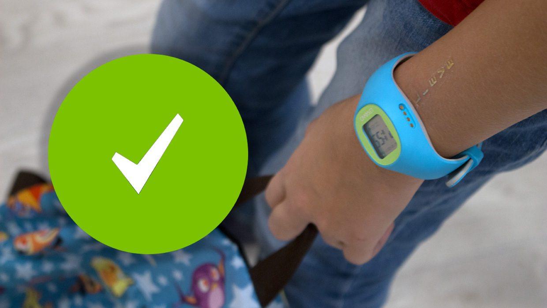 Эти часы следят за ребенком, чтобы родители не боялись