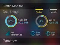 Как мониторить расход мобильного трафика на iPhone