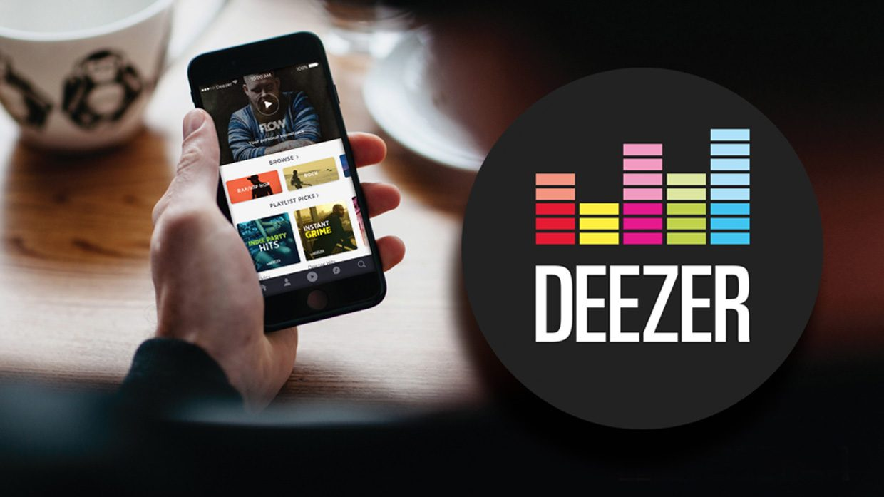 musica da deezer iphone