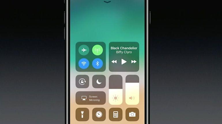 Apple объяснила, как пользоваться Пунктом управления в iOS 11.2