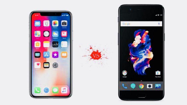 OnePlus 5T заряжается гораздо быстрее iPhone 8 и X