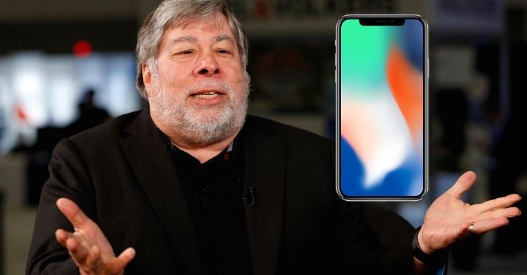 Стив Возняк назвал главную проблему iPhone X