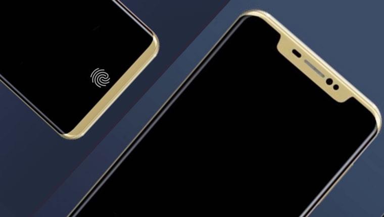 Появился клон iPhone X на Android со сканером под стеклом