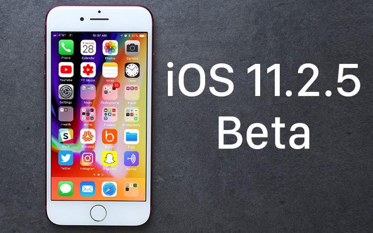 Вышла iOS 11.2.5 beta 4 для разработчиков