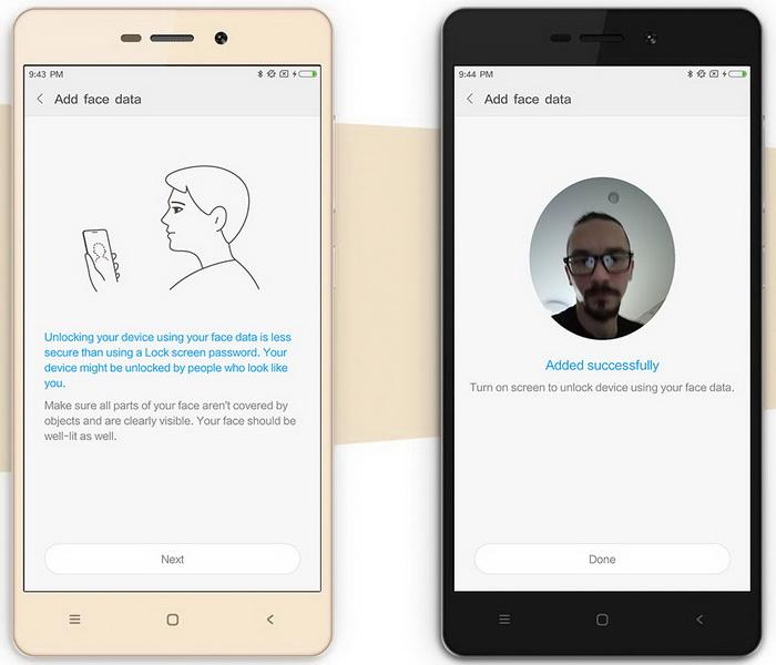 Xiaomi Face ID