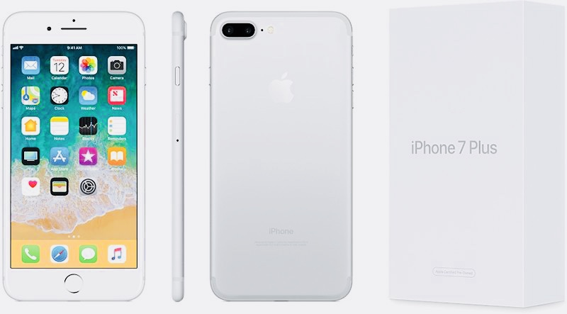 Apple начала продавать восстановленные iPhone 7 и iPhone 7 Plus