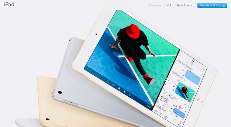 Apple зарегистрировала два новых iPad