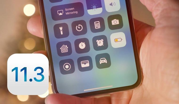 Вышла iOS 11.3 beta 3 для разработчиков
