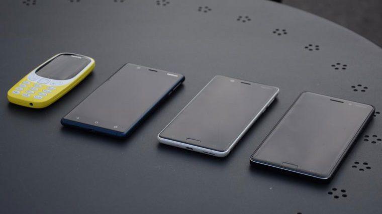 Nokia представила сразу пять новых смартфонов