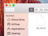 Как удалить служебные папки macOS с сетевого диска