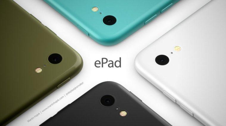 Это концепт планшета Apple ePad, его покажут сегодня