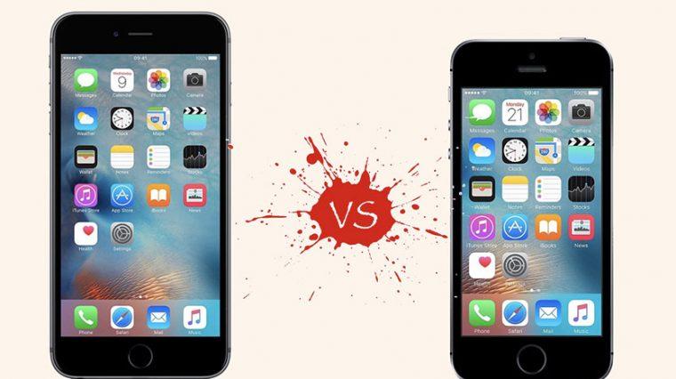 Какой iPhone взять в 2018 году: 6s или SE