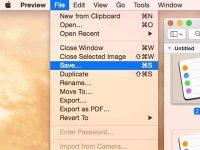 Что делать, если пропал пункт «Сохранить как…» в стандартных приложениях macOS
