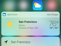 Почему не обновляется погодный виджет на iPhone