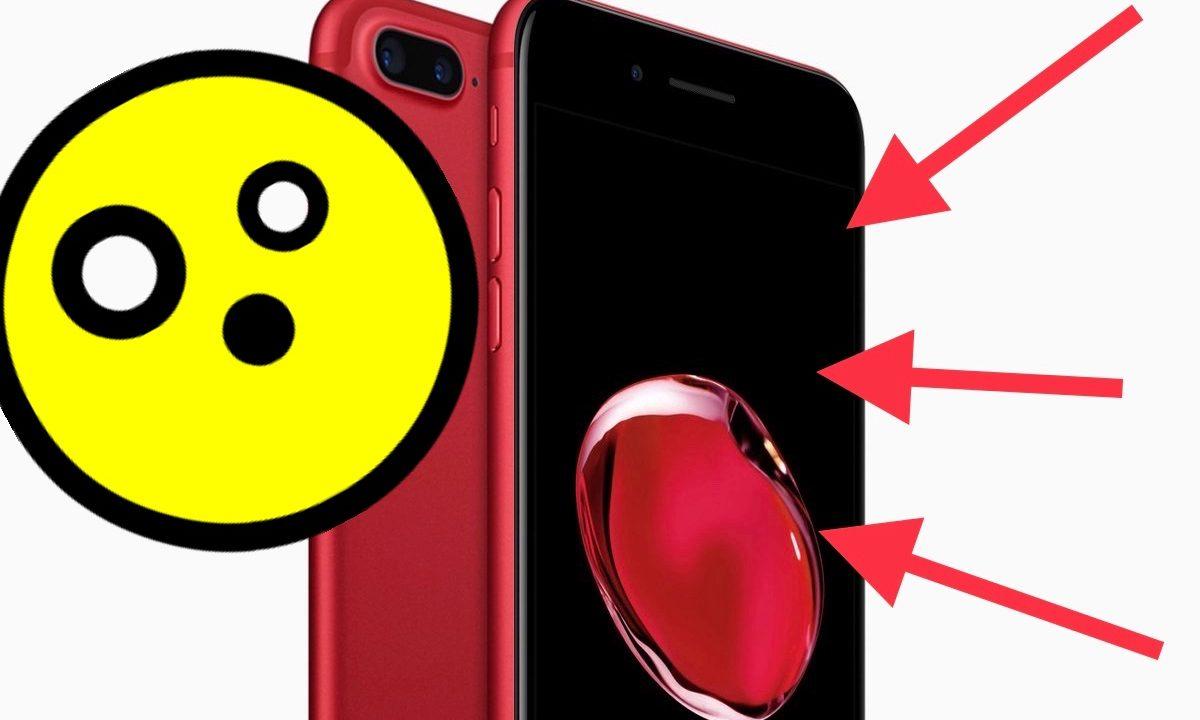 Надеюсь, красный iPhone 8 будет иметь чёрный дисплей