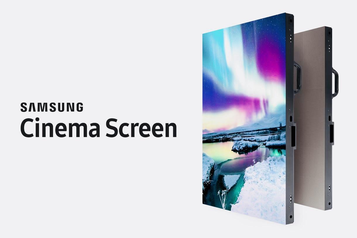 Samsung показала 4K телевизор высотой в 3 этажа