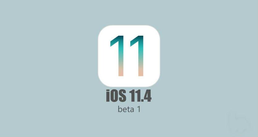 Вышла iOS 11.4 beta 1 для всех желающих