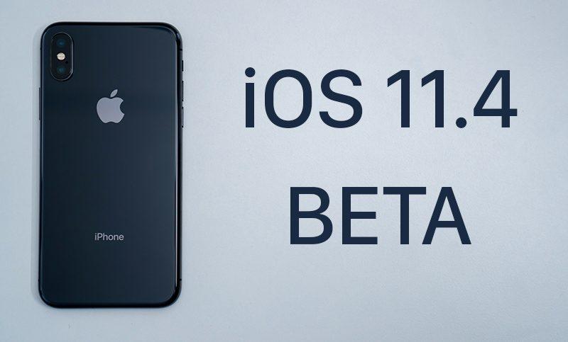 Вышла iOS 11.4 beta 5 для разработчиков