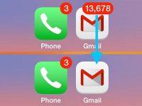 Как убрать красные наклейки с иконок на iPhone без отключения уведомлений