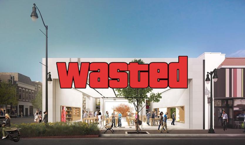 В Калифорнии ограбили уже 5-й Apple Store. Комбо!