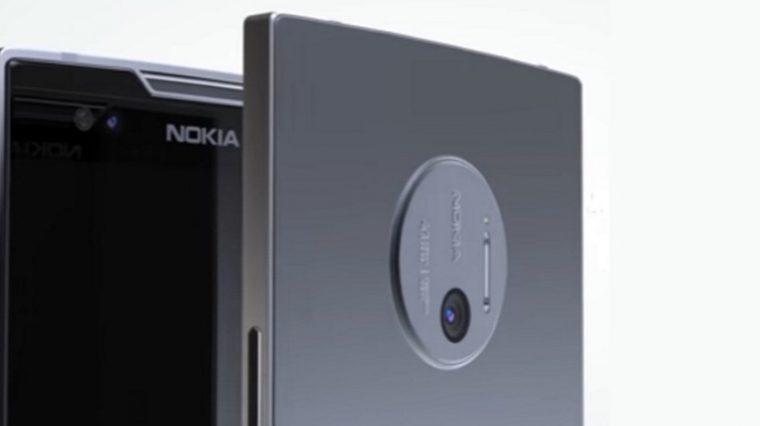 Nokia готовит нереальный смарт с 5-ю камерами. Первое фото