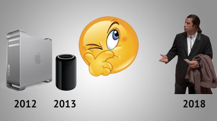 Где мой новый Mac Pro, Apple? Попробуй не показать!