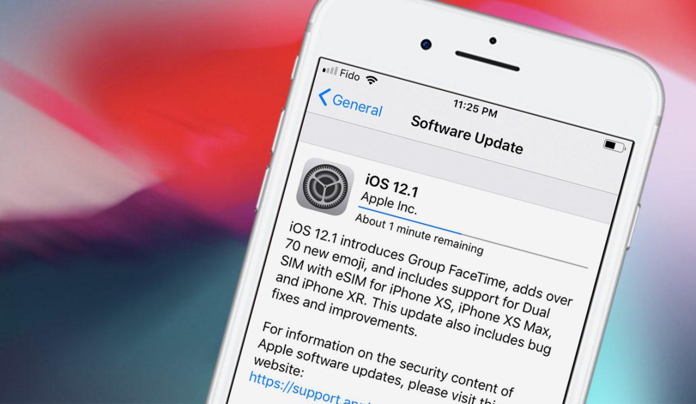Вы запустили обновление iOS, но передумали. Как остановить?