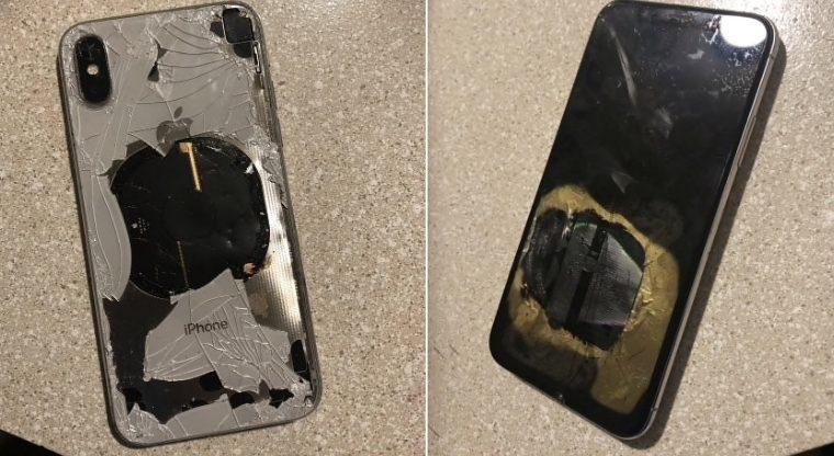 iPhone X взорвался после обновления до iOS 12.1