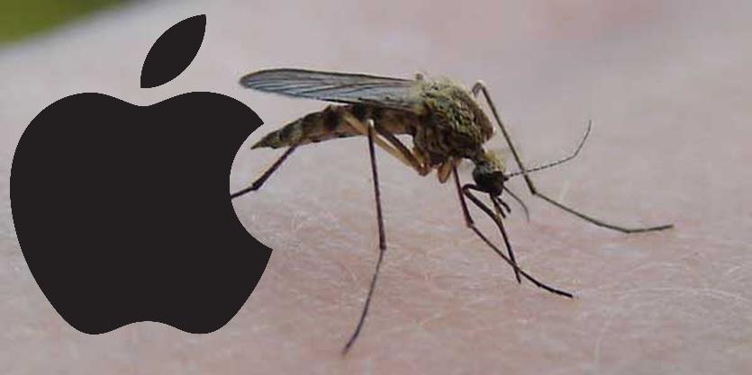 Apple жестоко наказала эмодзи комара