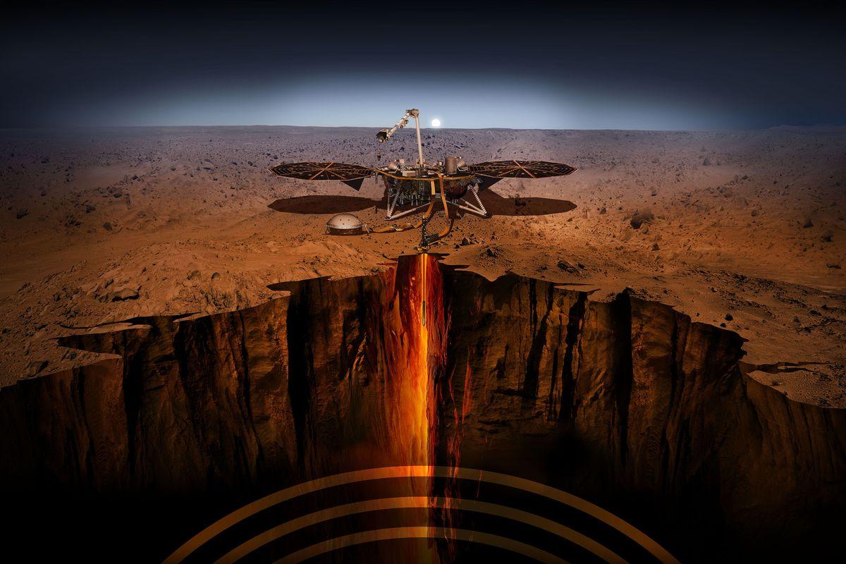 Онлайн трансляция посадки на Марс