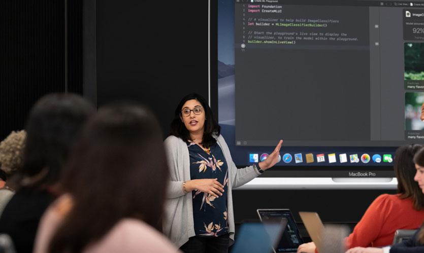 Apple поддержала женщин и запустила для них курсы разработчика