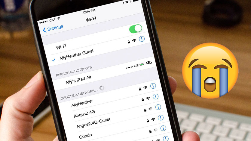 iOS 12.1 сломала Wi-Fi на всех iPhone. Проверьте свой