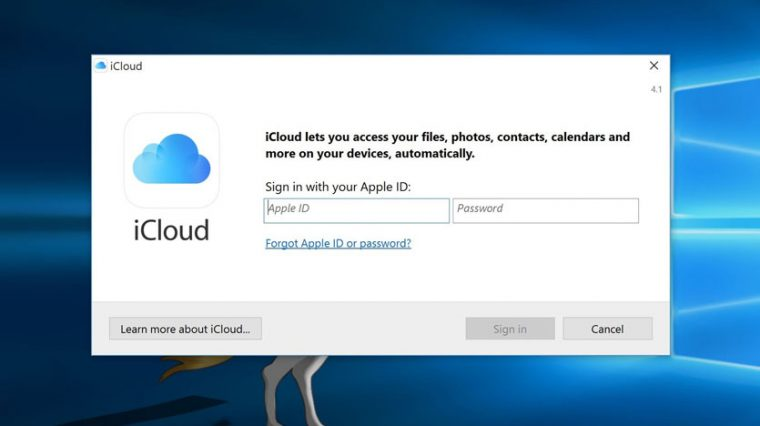 Вышел новый iCloud для Windows 10. Теперь он без багов