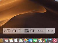 Как отключить всплывающее меню скриншотов в macOS Mojave