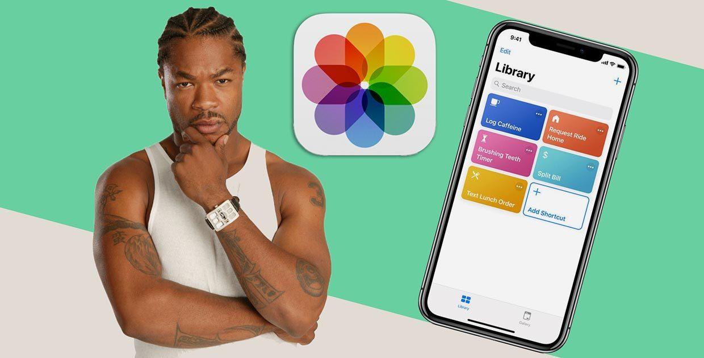 Как прокачать приложение Фото при помощи Команд iOS 12