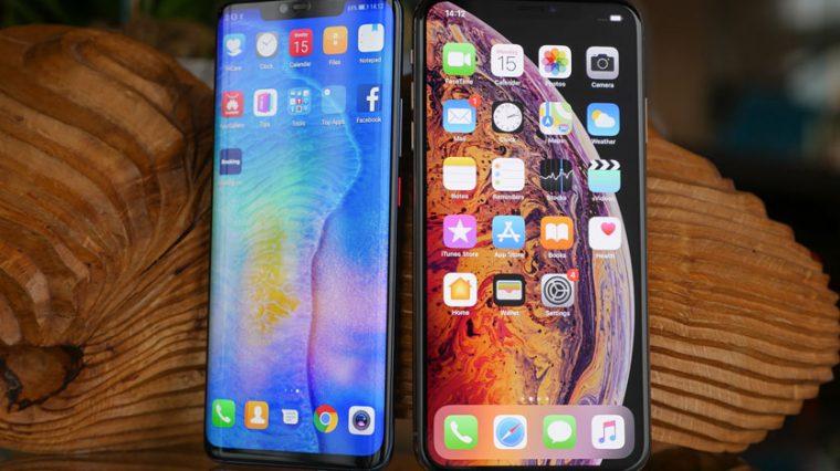 iPhone Xs Max разорвал Huawei Mate 20 Pro в тесте на скорость