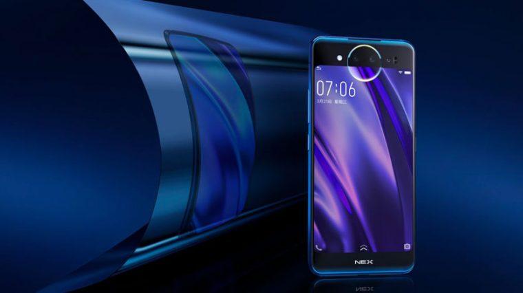 Vivo выпустила странный смартфон с тачпадом и без фронтальной камеры