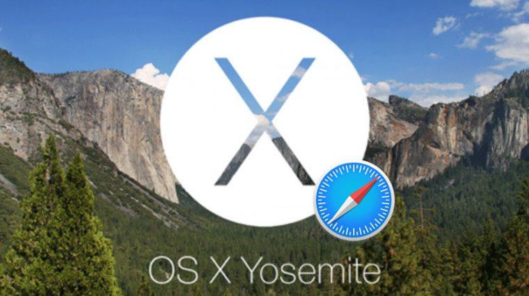 Apple сломала Safari в OS X Yosemite
