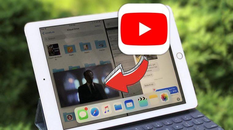 Как смотреть видео с YouTube на iPad в режиме картинка-в-картинке