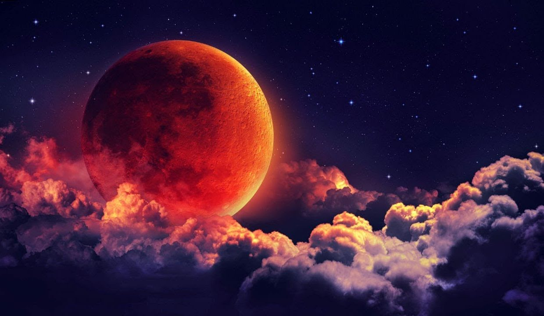 Кровавая Луна 2019. Где смотреть лунное затмение в России