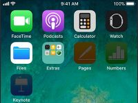 Почему иконки приложений на iPhone становятся черными