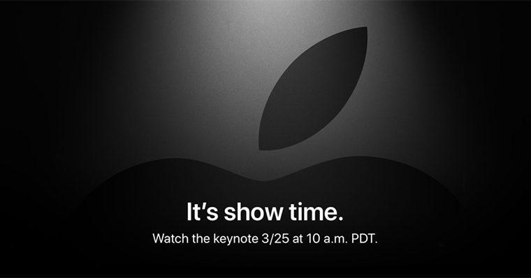 Что Apple покажет на презентации 25 марта